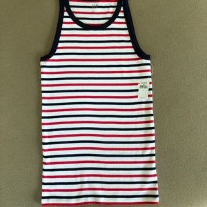 GAP Tops - Red, white and blue striped tank. NWT